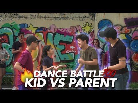Kid Vs Parent Dance Battle!! | Ranz and Niana
