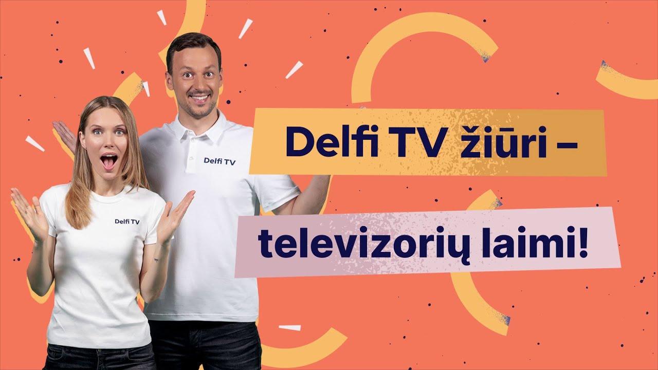 Žaidimas Delfi TV žiūri - televizorių laimi. Rugsėjo 20 dienos laimėtojas