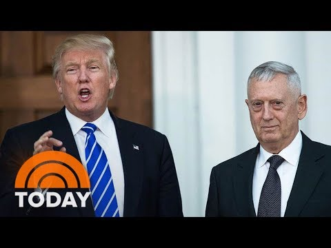 President Donald Trump's Transgender Military Ban Frozen By Sec. of Defense James Mattis   TODAY