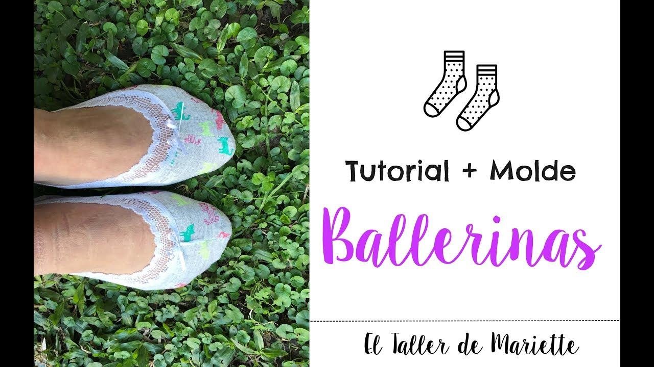 Tutorial Medias Ballerinas I El Taller De Mariette Youtube