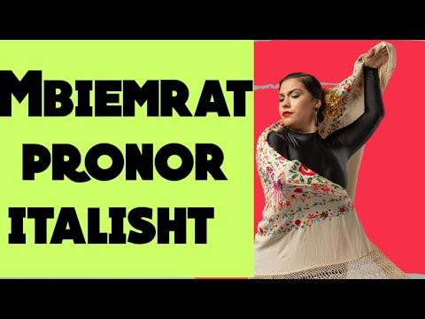Mbiemrat pronor, gjuha italiane 47.Mbiemrat pronor ne italisht.