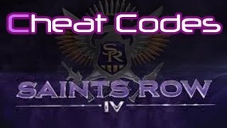Saints Row 4 - All In-Game Cheat Codes Guide