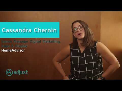 HomeAdvisor's Cassandra Chernin on what Adjust allows them to achieve