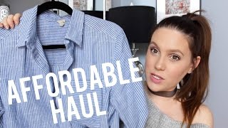 AFFORDABLE HIGHSTREET HAUL | MELSOLDERA