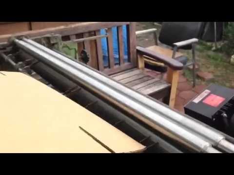 Potdevin NTZ Glue Machine Video