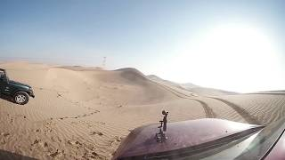 time lapse day in desert