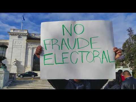 ORGANIZATIONS OF AMERICAN STATES protesta