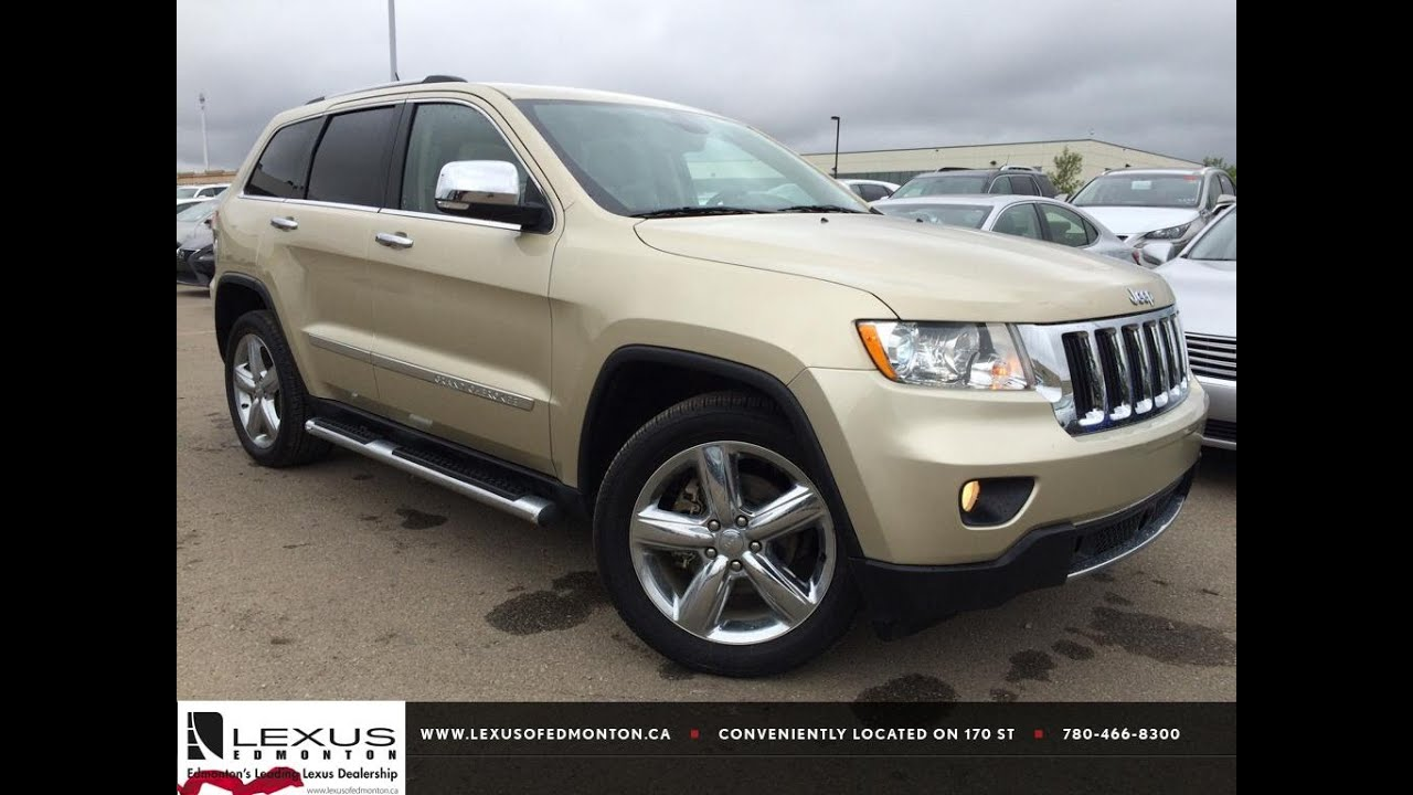 Pre Owned 2011 Gold Jeep Grand Cherokee 4wd Limited In