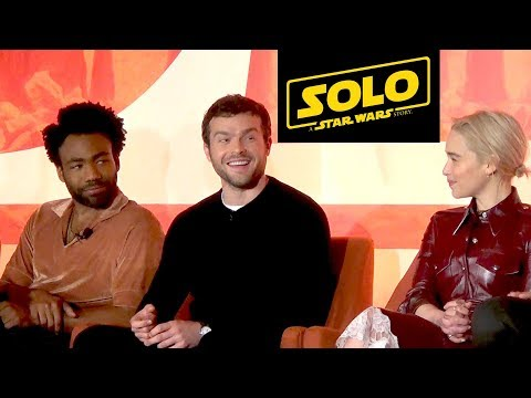Solo: A Star Wars Story FULL Press Conference wAlden Ehrenreich; Donald Glover, Ron Howard