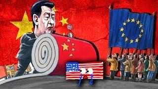 ÇİN'in Dünya Ekonomisini Ele Geçirme Planı! Harita Üzerinde Hızlı Anlatım