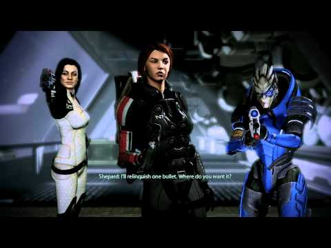 Mass Effect 2 walkthrough part 18 - healing facial scars and getting drunk with Dr. Chakwas