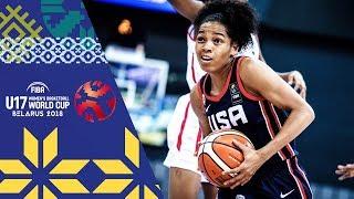 Mali v USA - Full Game - FIBA U17 Women's Basketball World Cup 2018