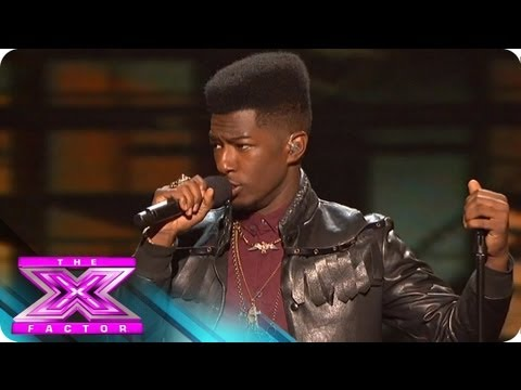 Willie Jones Sings for Survival - THE X FACTOR USA 2012