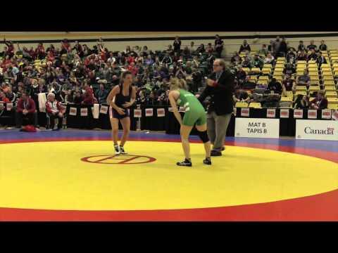 2015 CIS Championships: 48 kg Final Annie Monteith vs. Jade Parsons