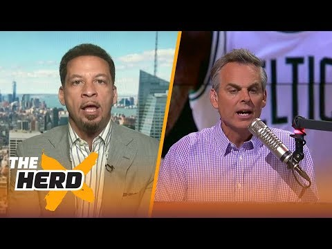 Chris Broussard dissects the Cavaliers trading away Kyrie Irving to the Boston Celtics | THE HERD
