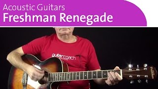 Freshman Renegade | Great Beginner Acoustic Guitar