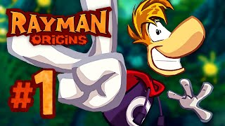 Rayman Origins | The Party Begins! - 1 (4-Player)