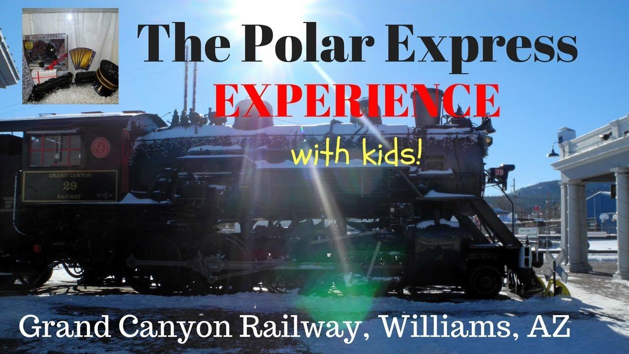 Experience The Polar Express Train In Arizona With Kids YouTube - Williams az car show 2018