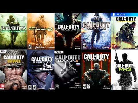 TOP 10 Call of Duty GAMES of ALL TIME! (👎WORST - BEST👍)