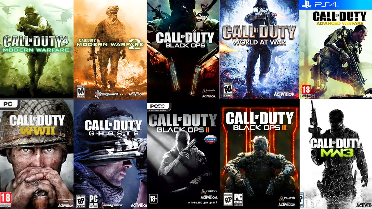 Image result for all the call of duty games
