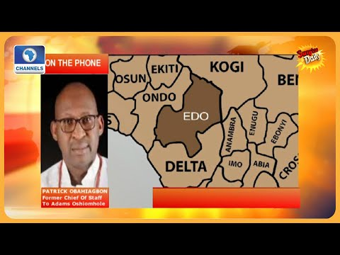 Patrick Obahiagbon Grieves Over APC Crisis In Edo State