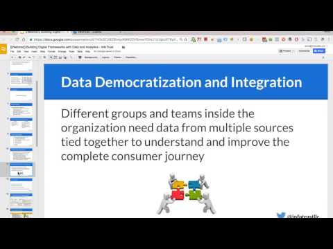[Webinar] Building a Digital Framework with Analytics