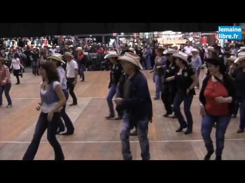 Le maine libre salon country western au mans youtube - Salon country western ...