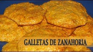 Galletas De Zanahoria Dukan - Dukan Carrot Cookies - Receta Fase Crucero