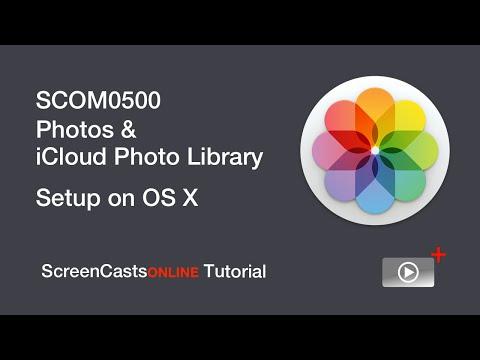 Photos & iCloud Photo Library Setup on OS X - Trailer