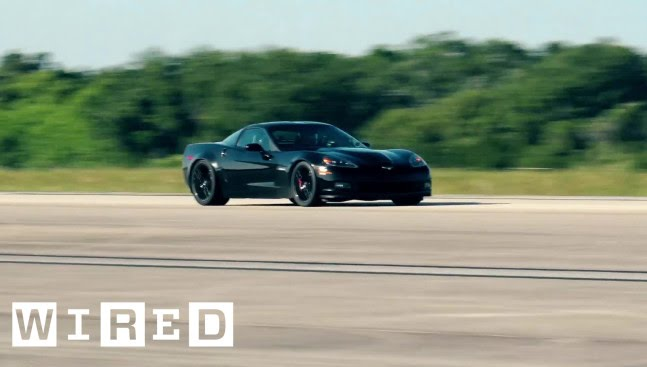 The Fastest Electric Car Ever Isn T A Tesla It S Converted Corvette Wired