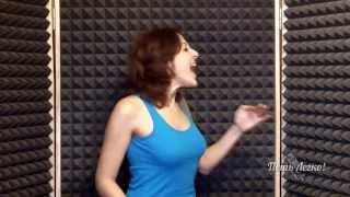 Уроки Вокала. Как петь низкие ноты? (Жанна Серопян)