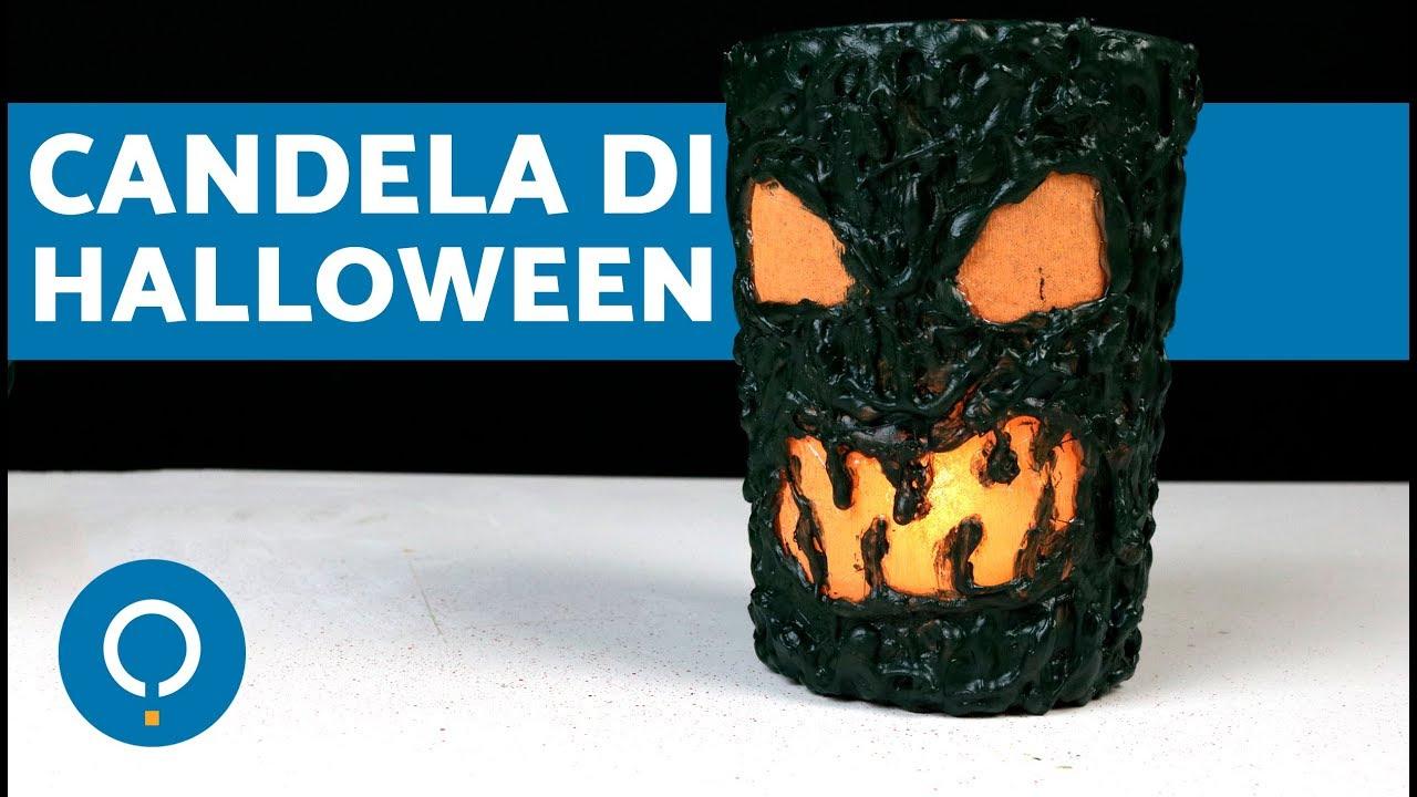 Amato Candela di HALLOWEEN 🎃 Lavoretti di Halloween fai da te - YouTube XI96