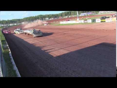Proctor Speedway 8/22/16 Crash