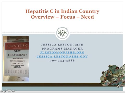 Innovative Strategies for Addressing Hep C in Indian Country