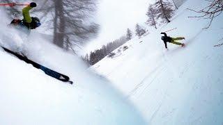 Le Signal Chamonix Mont-Blanc Le Montenvers Mer de Glace ski hors pistes montagne