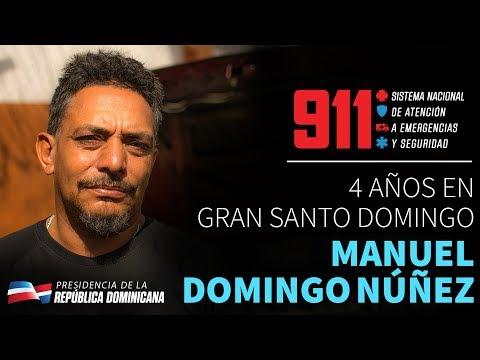 VIDEO: 4 años en Gran Santo Domingo. Manuel Domingo Núñez