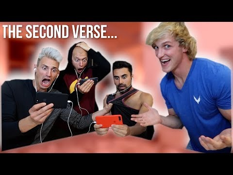REACTING TO THE UNRELEASED SECOND VERSE! (Diss Track)