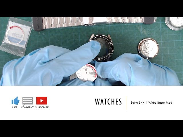 Watches | Seiko SKX White Racer Mod