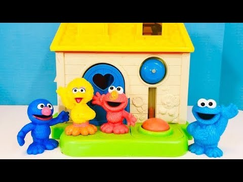 Sesame Street Toys FISHER PRICE LITTLE PEOPLE House Christmas Tree Ornaments