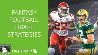 Fantasy Football Draft Strategies: Tier Based, Zero RB,  Zero WR For PPR & Standard Leagues