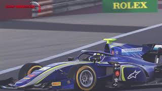 F1 2019 - F2 Lando Norris at Bahrain daytime (ONBOARD + REPLAY)