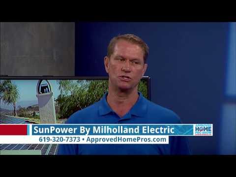 San Diego Solar: Introducing SunPower by Milholland Electric