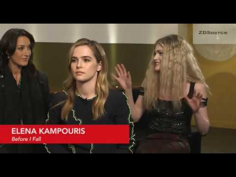 "Zoey Deutch on Her Character's Journey To Redemption-""Before I Fall"" Sundance Interview 2017"