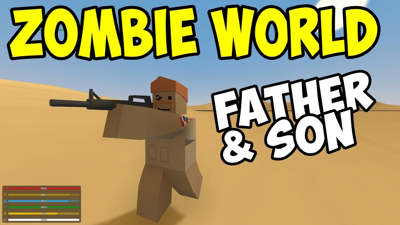 Unturned father son in zombie world part 1 unturned unturned father son in zombie world part 1 unturned multiplayer co op youtube gumiabroncs Images