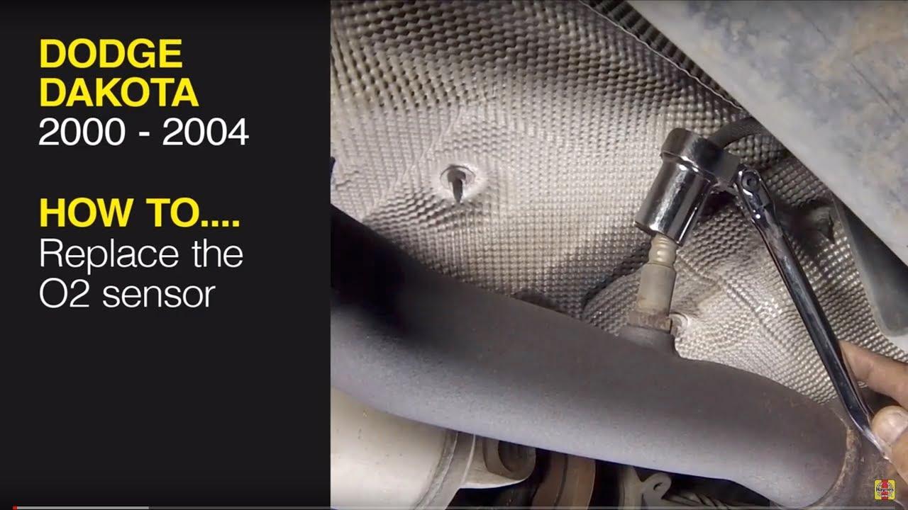 How To Replace The Oxygen Sensor On A Dodge Dakota  2000