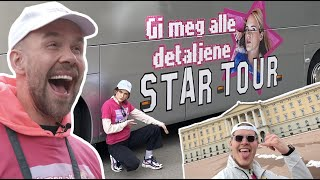 CELEBRITY STAR TOUR, OSLO-edition
