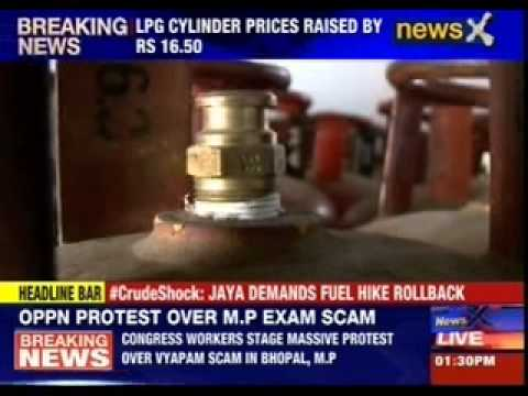 After petrol hike, now LPG cylinder