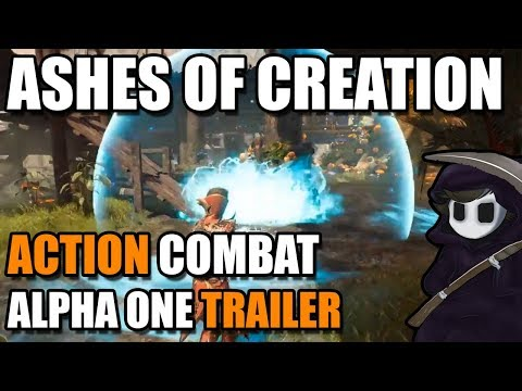 Ashes of Creation - First Phase Action Combat - *Alpha 1 Trailer*