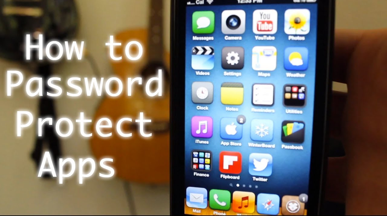 How to Password Protect iPhone Apps/Folders with AppLocker Free ...