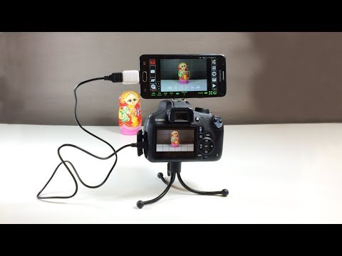 DIY Use Smartphone As A DSLR Monitor
